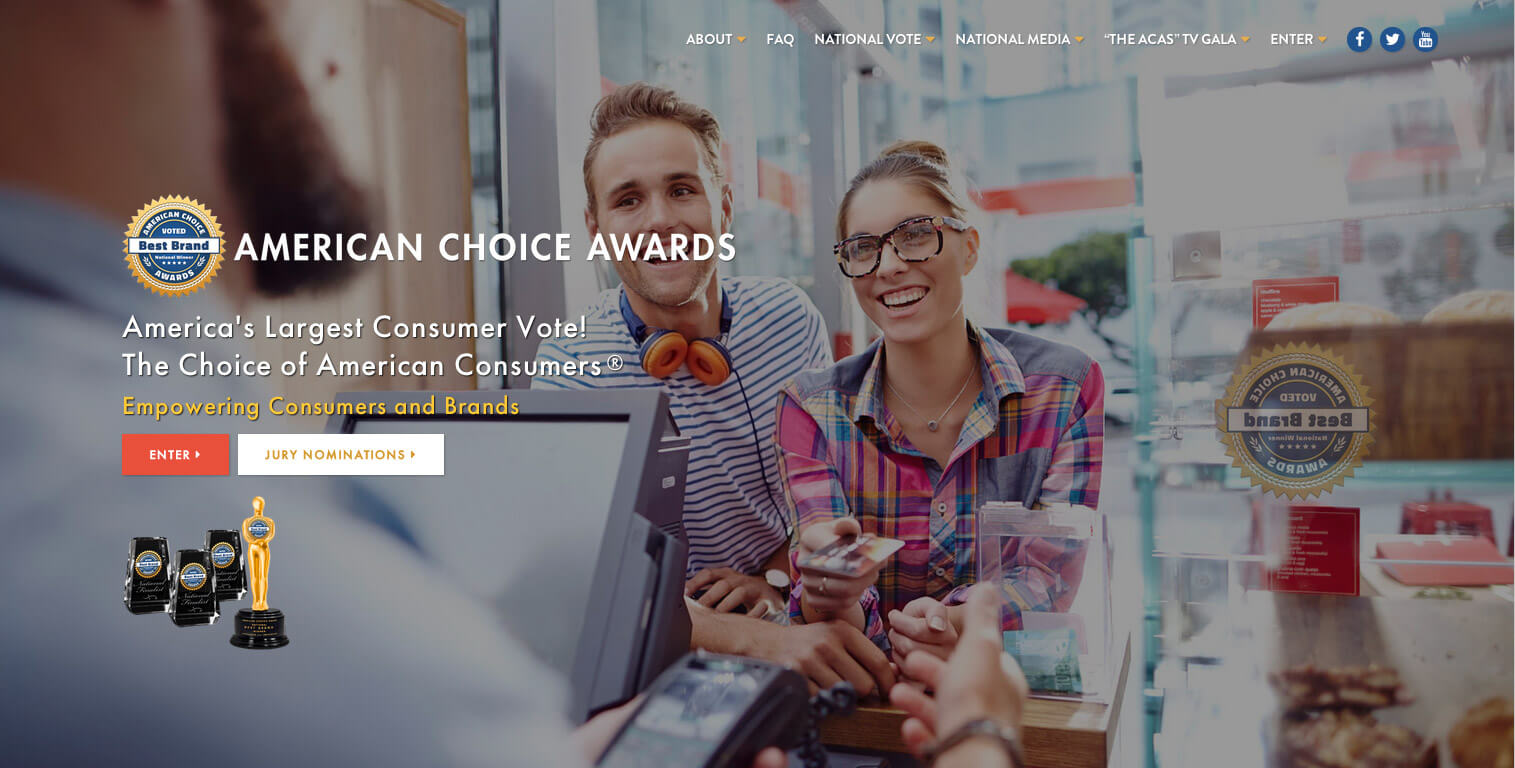 American Choice Awards America S Largest Consumer Vote